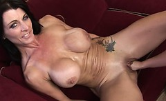 Brutal vagina fisting of two glamours