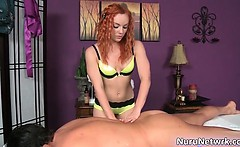 Hot ginger sexy body babe gives great