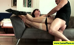 Tight mature brit pussy fucked in hot high def