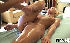 Delightful and sexy massage