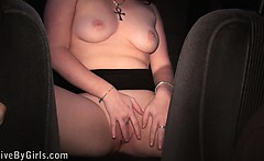 Dogging sex with a passionate redhead girl Part 1
