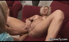 Extreme mature amateur milf lesbians bizarre double fisting
