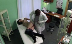 Elis gets a free tits consultation