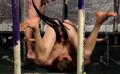 Gay fuck Sinking his pecker in and masturbating the fellow o