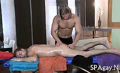 Explicit massage for homo