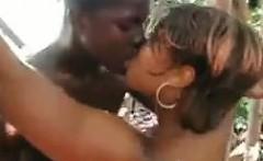 ebony slut fucked in paradise