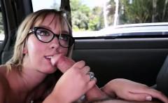 Big booty white girl fucked in bangbus