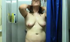 Girl Masturbating In The Shower