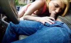 very tight blonde teen girl dakota skye fucked in the car