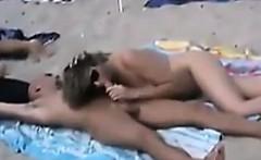 Sex At The Public Beach