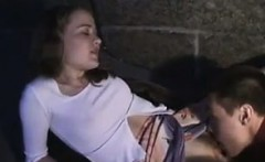 Russian Girl Licked And Fucked Outside