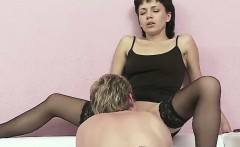 Dominant Girl Tells Him What to Do