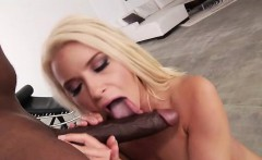 Anikka pounded hard by a big black cock