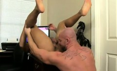 Gay sex After face ravaging and eating his ass, Mitch romps