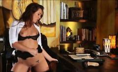 sexy secretary maddy fucked on the table
