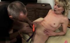 Big tits pussy full of cum