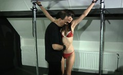 Body waxing and harsh torment for the obedient subsgirl