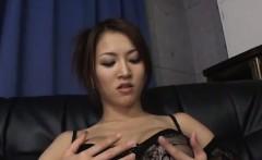Yuki Touma looks eager to try her new toy