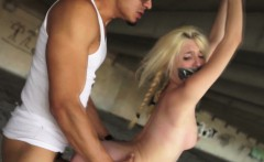 Latina rough dom punishes petite bonded slave
