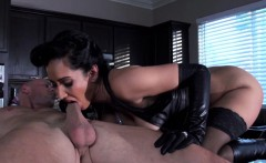 Beautiful busty housewife cum hot dominatrix