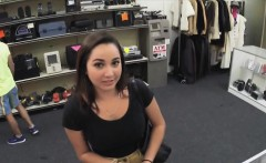 Carleys big tits got fucked for some quick money