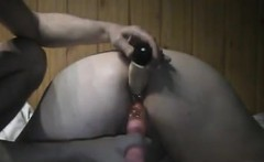 Sticking Toys In My Horny Wifes Holes