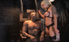 Nina Elle and Rob Piper Electric Chair Cock Ride