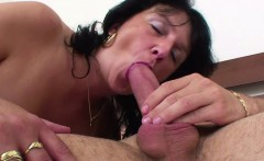 mom wake up 18yr german step son to fuck him when dad away