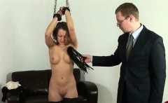Spanked by cruel boss