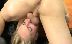 Hot pornstar Erika Devine cock choking