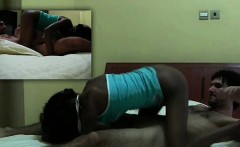 Black African babe sucks big dick