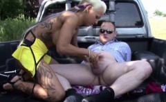 German Street Whore Teen get fucked with Old Men for Money