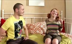 Fake Hardcore Casting for German Redhead Skinny Teen