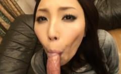 Nozomi Mashiro gets cum from shlong sucking and balls