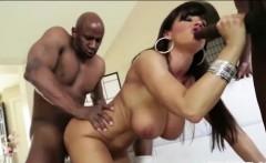 Seductive Klara Gold screws her phat ass on top of huge cock