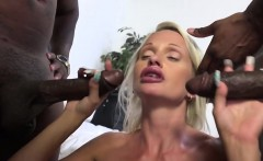 Cindy Sun Gets DP'd By Two Hung Black Guys