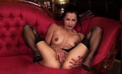Hot daughter cum between tits