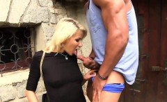 Clothed european fucked