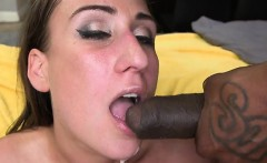 White Cream From Black Cock For Skyler Luvs Taste