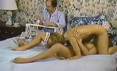 Karen Summer, Nina Hartley in porn classic clip with a