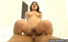 Great ass cute brunette babe fucking