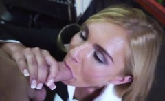CFNM MILF sucks big cock for pawn cash on camera