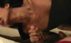 Ladyboy hottie gives proper handjob and blowjob in POV