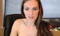 Hot Cam Chick With A Dildo