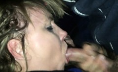 sucking cock and eating his hot load of cum