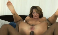 Nasty Savannah Fox fucked in fuckholes by horny black dudes