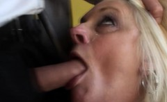 Assfucked uk gilf plowed hard and facialized