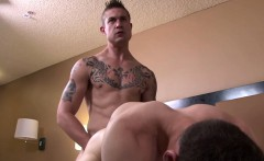 Muscled sailors butt banged raw