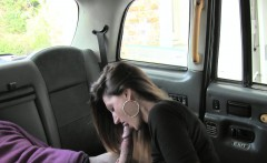 Squirting in taxi after jerking