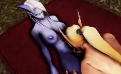 Ellie Big Day - Hottest 3D anime sex world